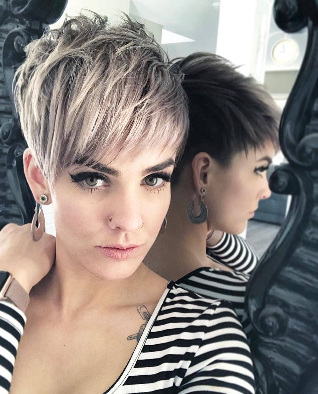 Top 10 Most Flattering Pixie Haircuts For Women, Short Hair Styles 2019 With Pixie Layered Short Haircuts (View 2 of 25)