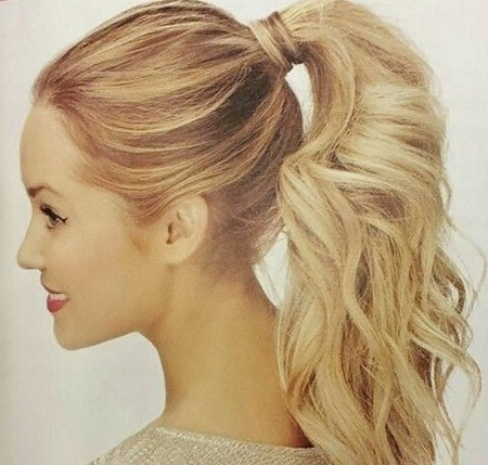 Top 10 Most Popular Ponytail Hairstyles Of All Time – World Blaze Throughout Charmingly Soft Ponytail Hairstyles (View 13 of 25)