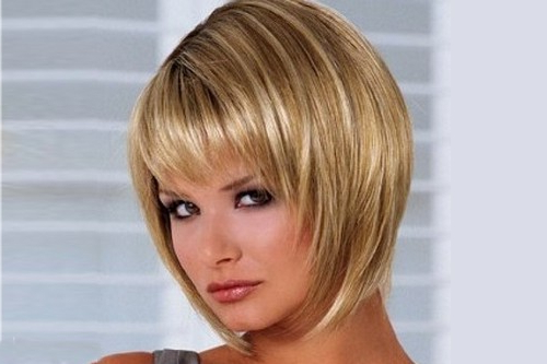 Top 10 Most Popular Winter Hairstyles With Short Tapered Bob Hairstyles With Long Bangs (View 20 of 25)