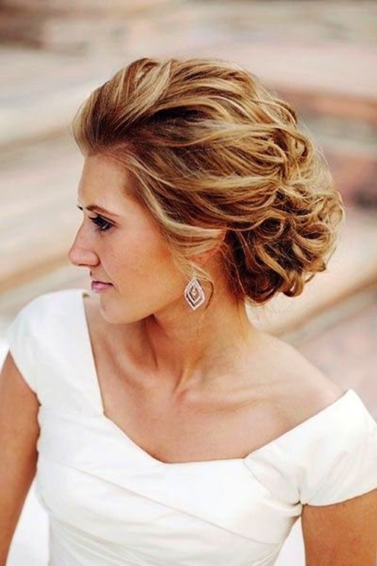 Top 10 Mother Of The Bride Hairstyles For Short Hair For 2017   Hair Within Brides Hairstyles For Short Hair (View 4 of 25)
