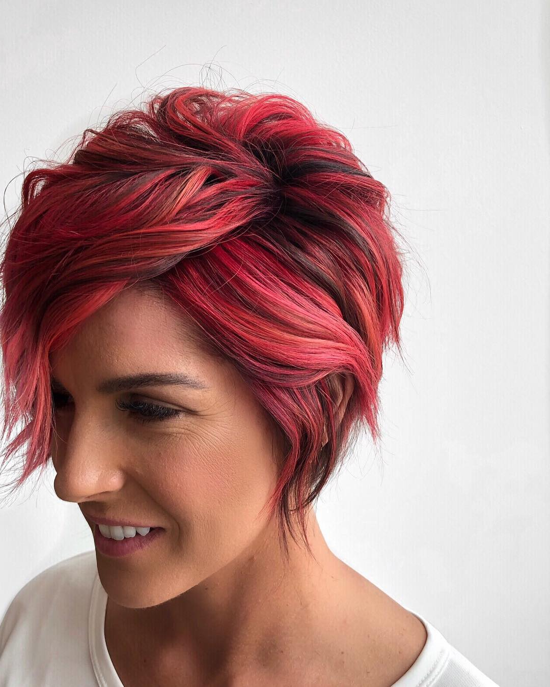Top 10 Trendy, Low Maintenance Short Layered Hairstyles For 2018  2019 For Black Short Layered Hairstyles (View 18 of 25)