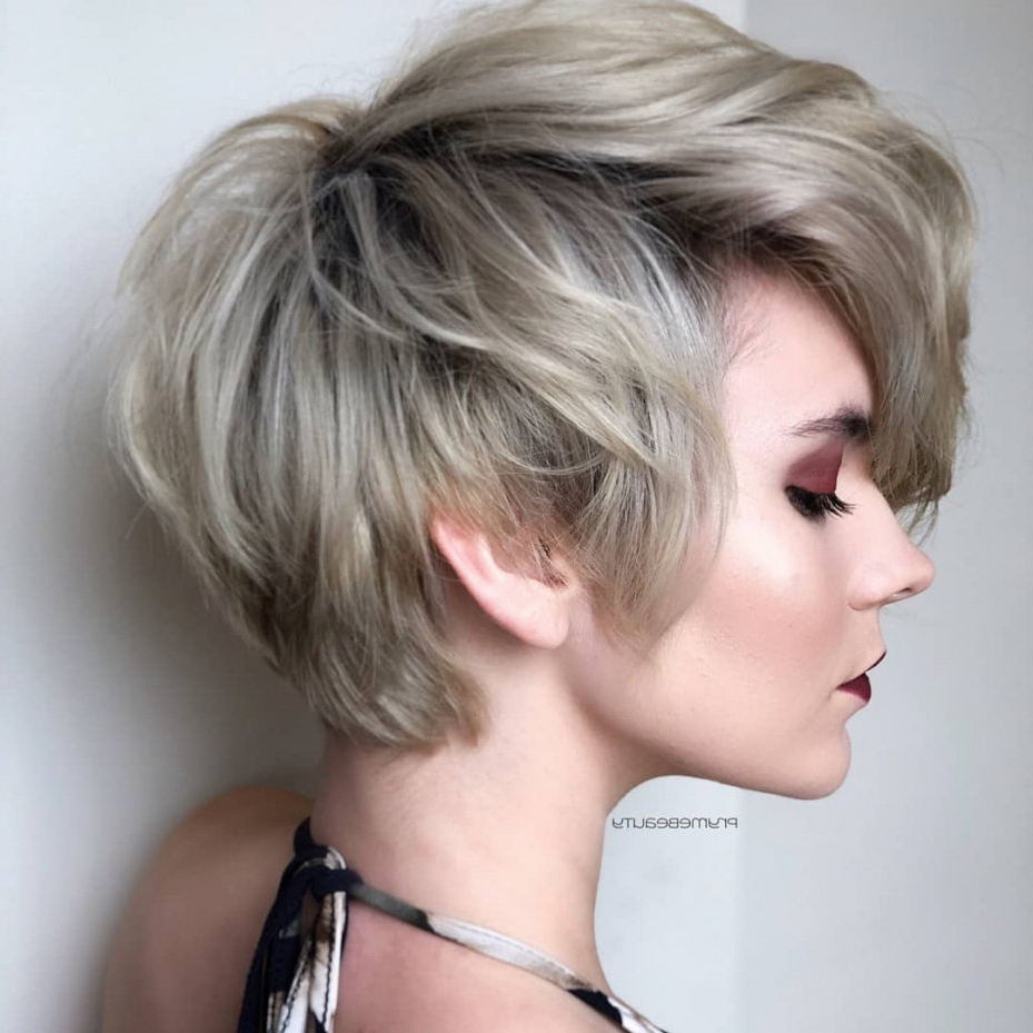 Top 10 Trendy, Low Maintenance Short Layered Hairstyles For 2018 With Easy Maintenance Short Haircuts (View 24 of 25)