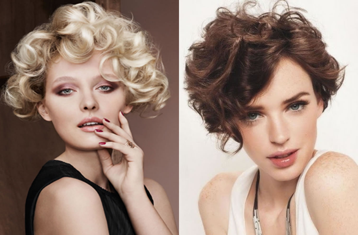 Top 100 Beautiful Short Haircuts For Women 2018 | Images+Videos Regarding Trendy Short Curly Haircuts (View 11 of 25)