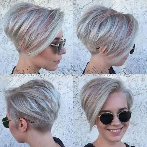 Top 18 Short Hairstyle Ideas – Popular Haircuts Inside Choppy Pixie Bob Haircuts With Stacked Nape (View 22 of 25)