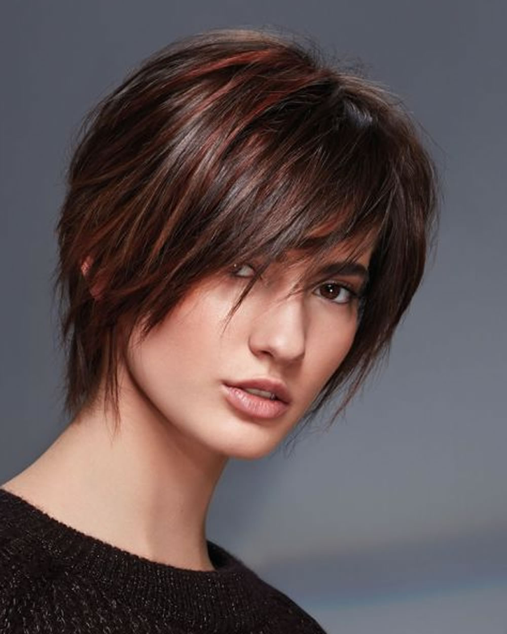 Top 20 Matchless Short Haircuts For Women With Round Faces 2018 2019 Throughout Women Short Haircuts For Round Faces (View 14 of 25)