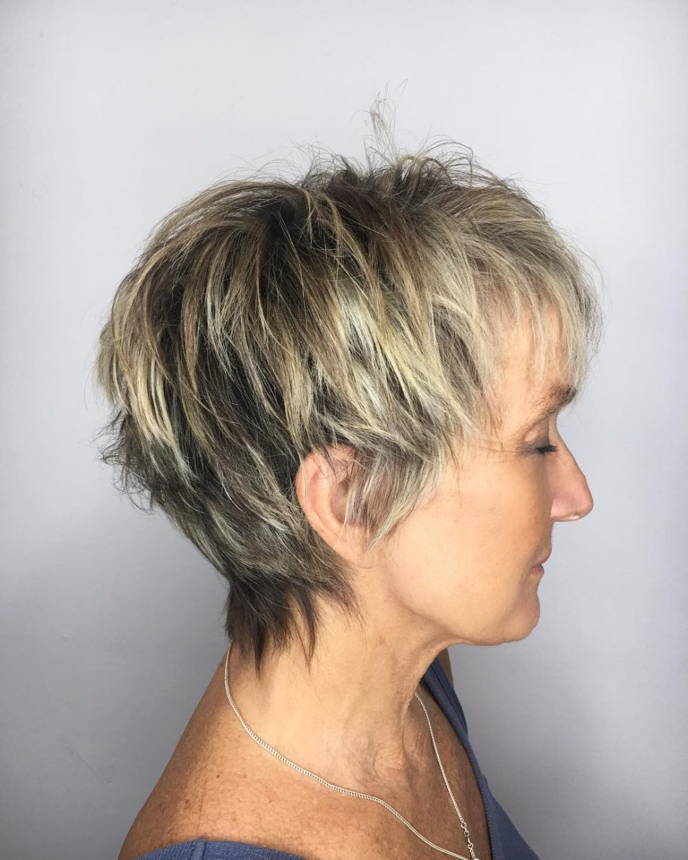 Top 22 Choppy Hairstyles You'll See In 2018 With Choppy Short Hairstyles For Older Women (View 7 of 25)