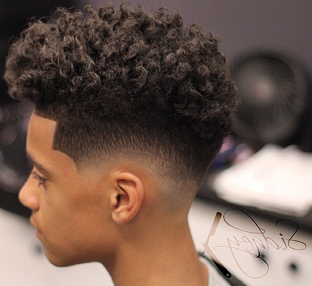 Top 26 Latest Curly Hairstyles For Male Hairstyles For Curly Hair Regarding Short Haircuts For Curly Black Hair (View 24 of 25)