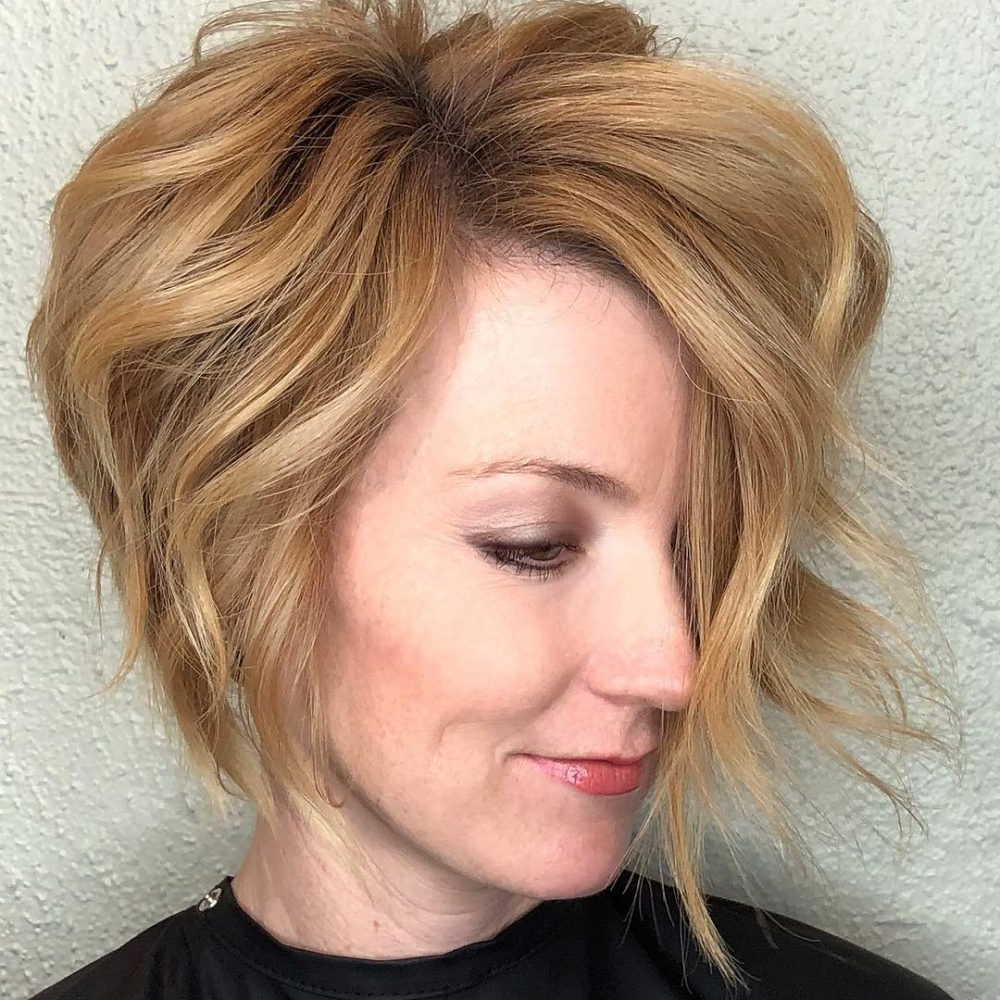 Top 27 Haircuts For Heart Shaped Faces Of 2018   Latest Hairstyles Throughout Cute Short Haircuts For Heart Shaped Faces (View 7 of 25)