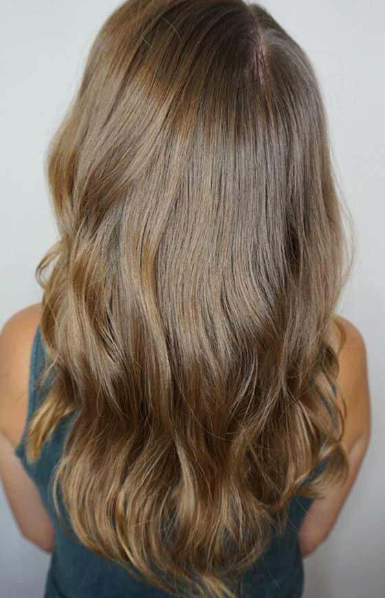 Top 30 Golden Brown Hair Color Ideas With Hazel Blonde Razored Bob Hairstyles (View 14 of 25)