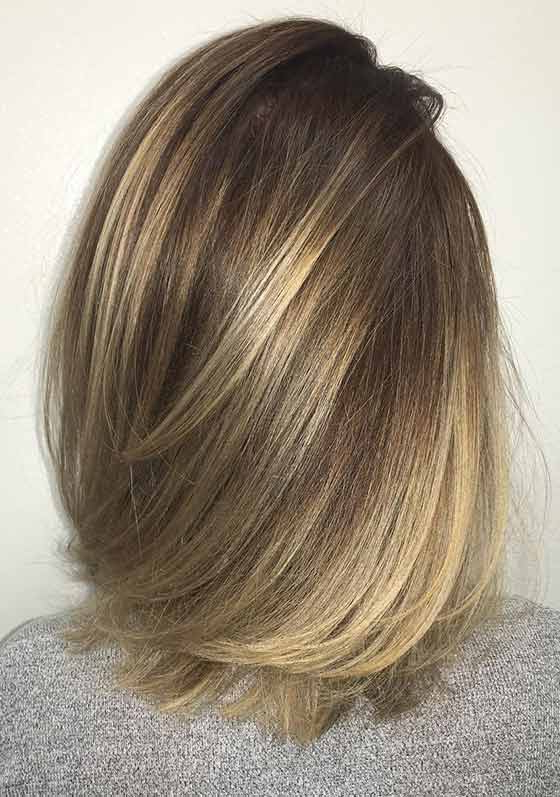 Top 30 Golden Brown Hair Color Ideas With Regard To Hazel Blonde Razored Bob Hairstyles (View 10 of 25)