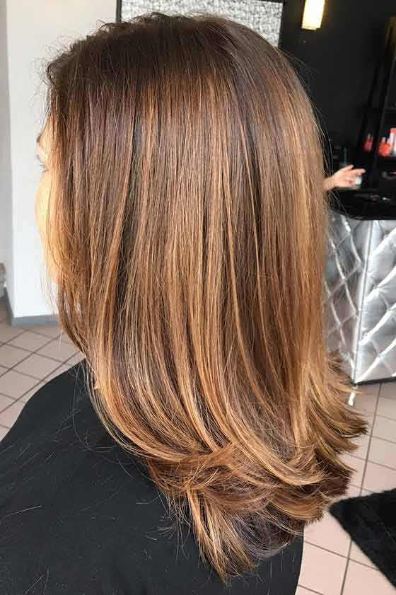 Top 30 Golden Brown Hair Color Ideas Within Hazel Blonde Razored Bob Hairstyles (View 24 of 25)