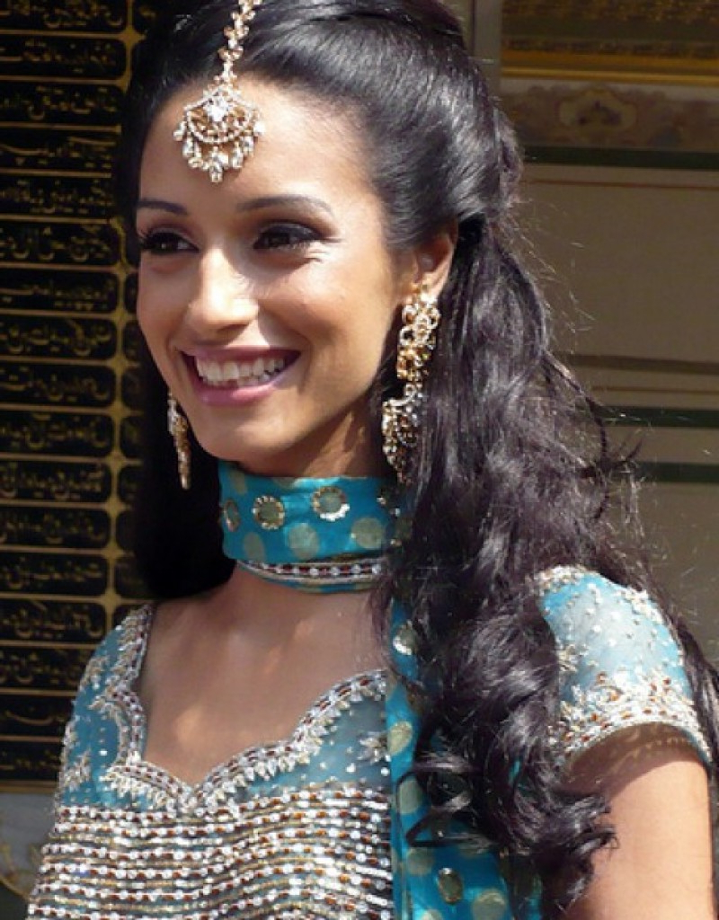 Top Indian Wedding Hairstyles With Regard To Short Hairstyles For Indian Wedding (View 23 of 25)