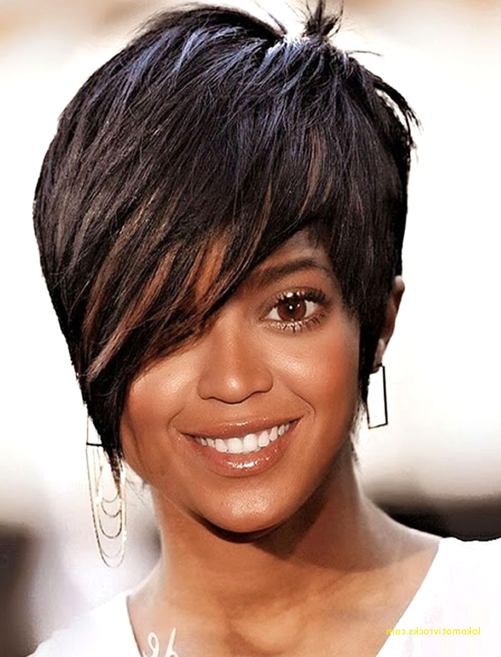 Featured Photo of Bob Short Hairstyles For Black Women