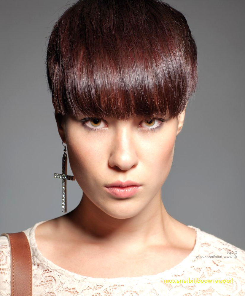 Top Result 57 Unique Fringe Short Hairstyles 2015 Gallery 2018 Hzt6 With Short Haircuts With Long Fringe (View 17 of 25)