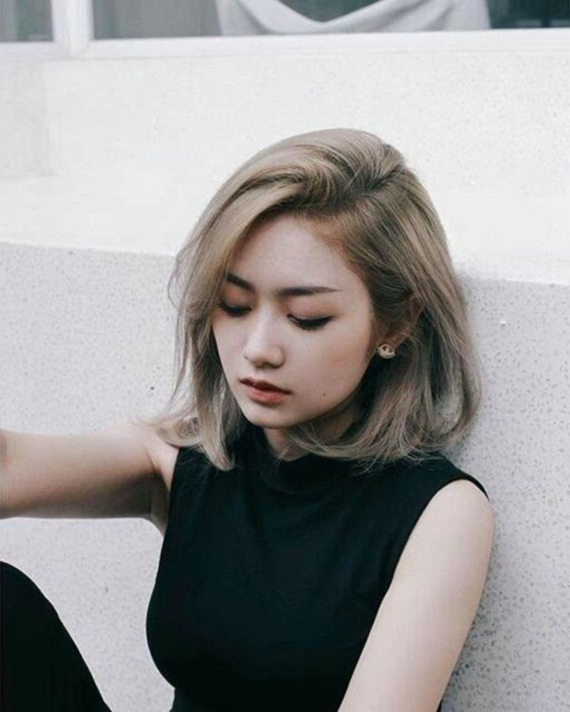 Totally Inspiring Korean Short Hairstyles Ideas (13) | Simple2Wear In Korean Short Bob Hairstyles (View 19 of 25)