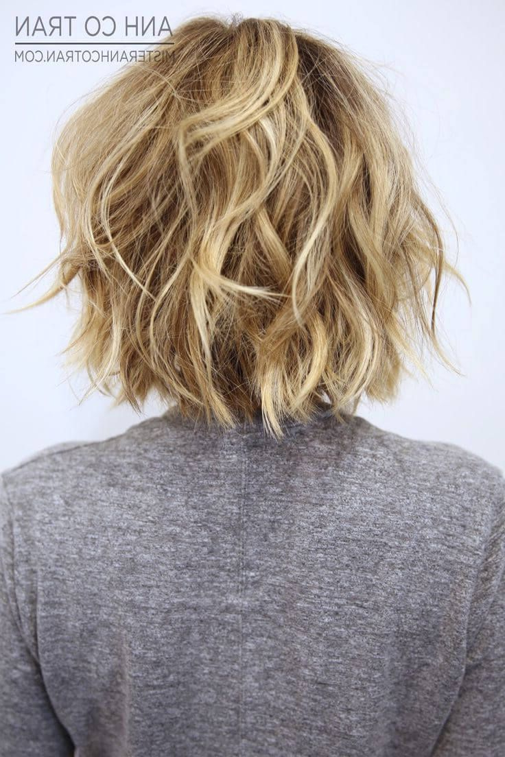 Tousled Short Wavy Hair | Hairstyle: Short | Pinterest | Short Wavy Throughout Tousled Short Hairstyles (View 4 of 25)