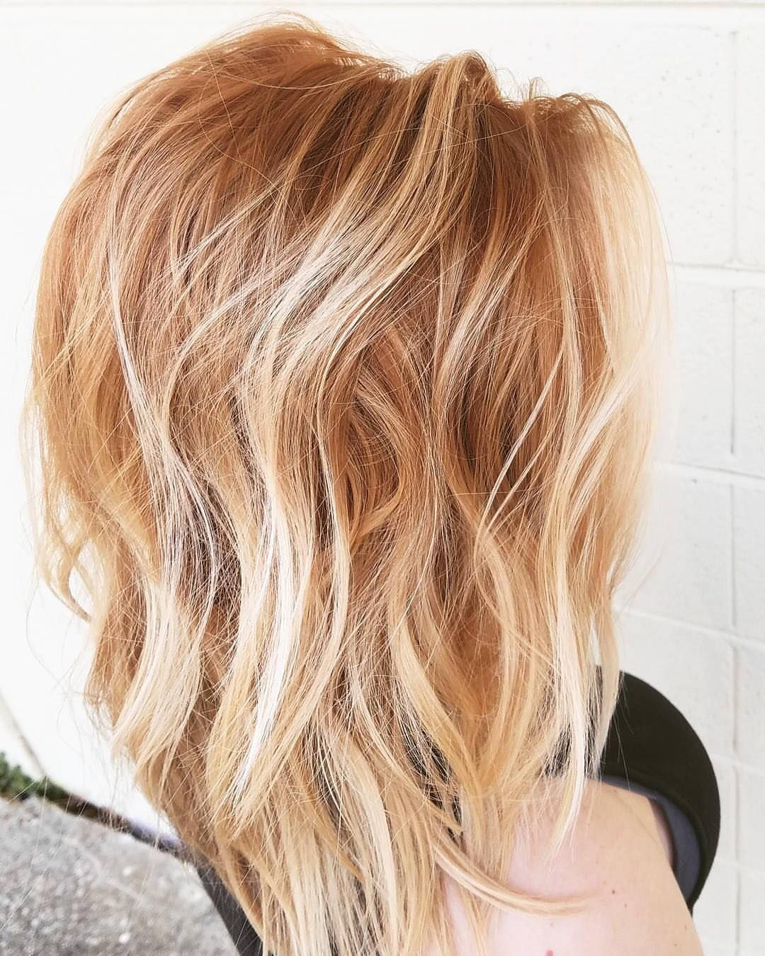 Tousled Strawberry Blonde Waves   Huuur In 2018   Pinterest   Hair Pertaining To Strawberry Blonde Short Haircuts (View 16 of 25)