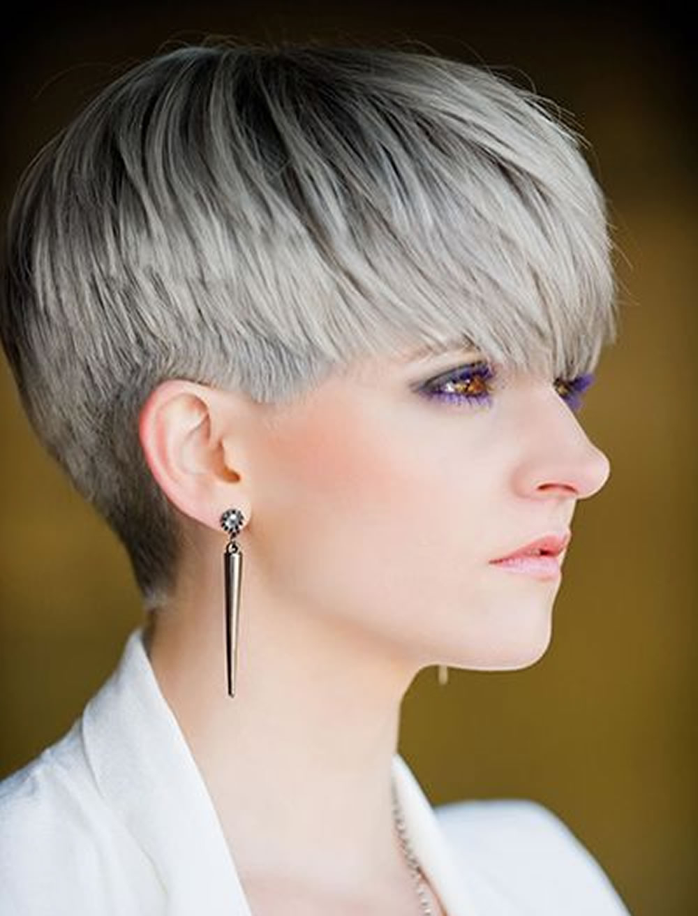 Trend Short Haircuts For 20182019 And Best Pixie Hairstyles | Haircuts Intended For Short Hairstyles For Women With Gray Hair (View 22 of 25)