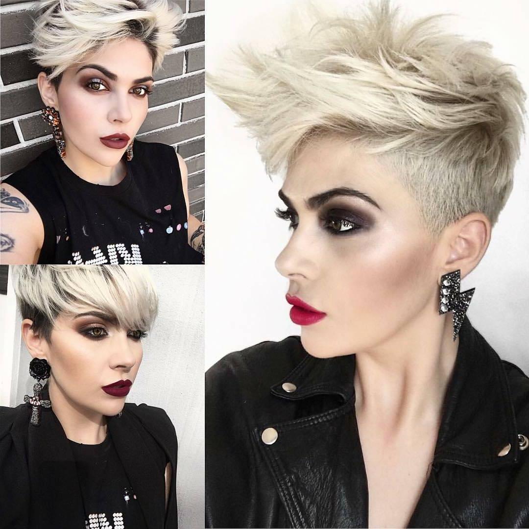 Trendiest Pixie Haircut For Women, 2018 Summer Short Hairstyle Ideas For Summer Short Haircuts (View 23 of 25)