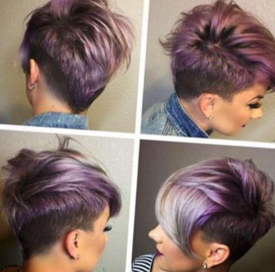 Trendy Asymmetrical, Short Hairstyle – Popular Short Hair Cuts 2017 In Asymmetrical Short Hairstyles (View 4 of 25)