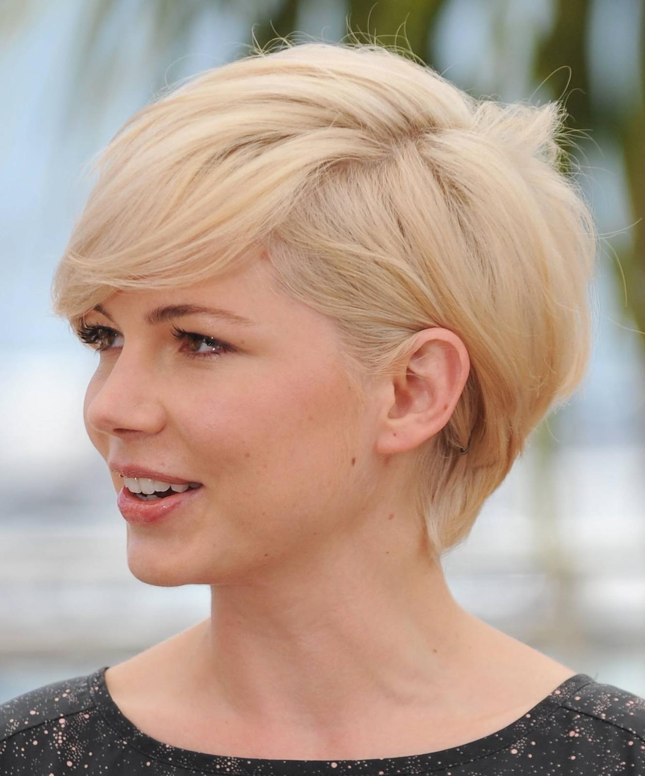 Trendy For Short Hairstyles: Short Blonde Hairstyles Within Short Blonde Hair With Bangs (View 20 of 25)
