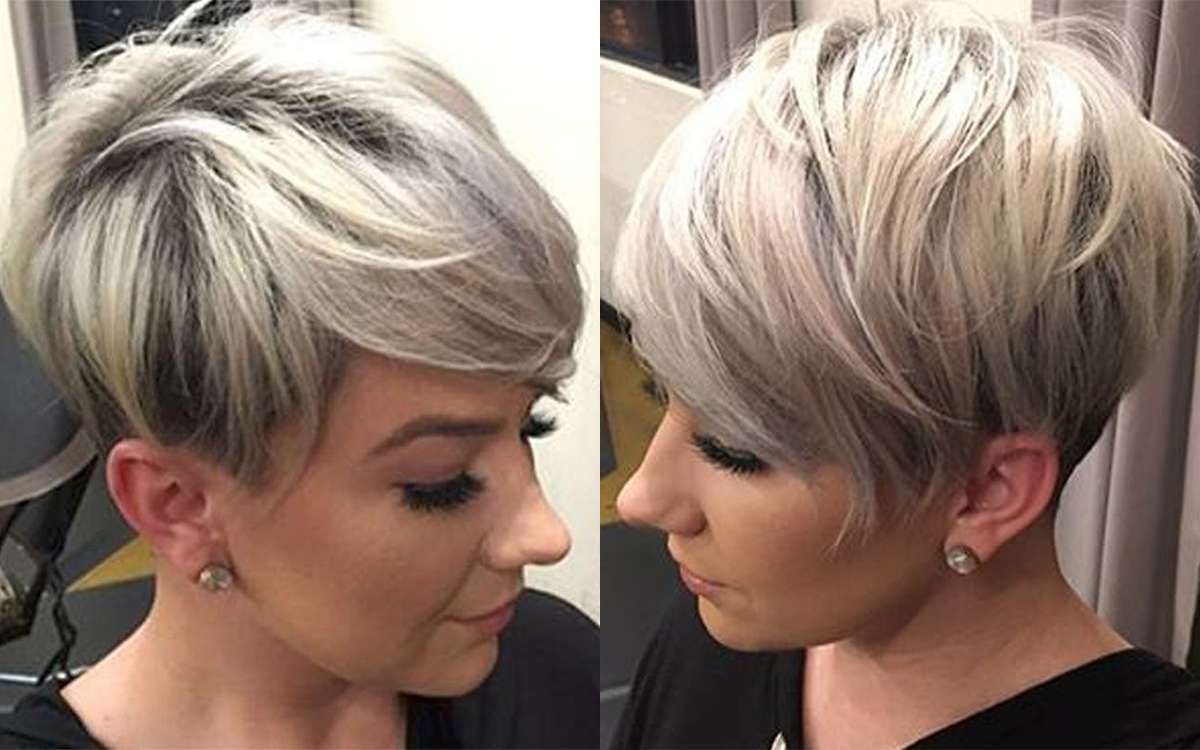 Trendy Short Haircuts For Fall 2017 – Leymatson Inside Fall Short Hairstyles (View 12 of 25)