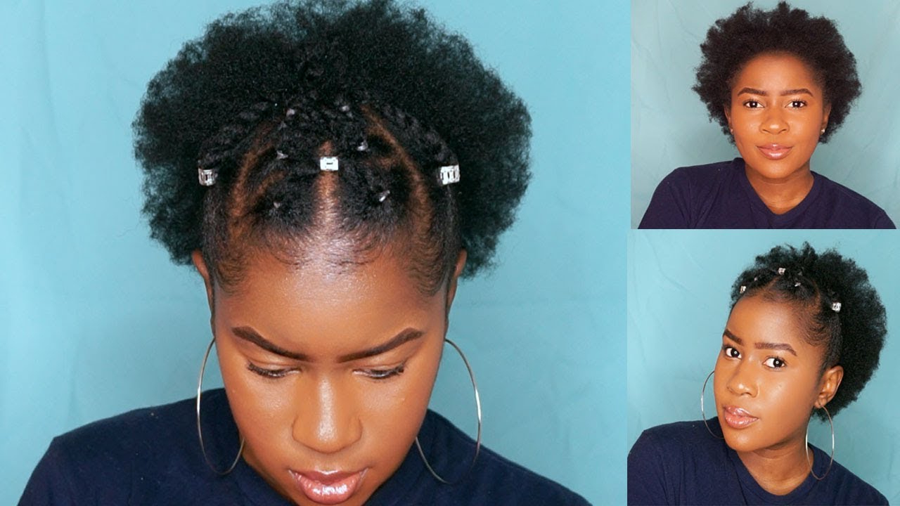 Trendy Two Strand Twist Style On Short 4C Natural Hair!!!|Mona B For 4C Short Hairstyles (View 24 of 25)