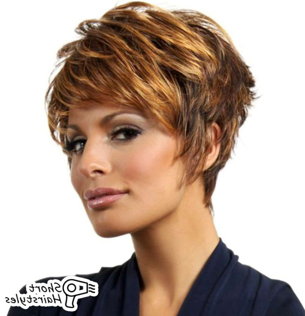 Trendy Very Short Haircuts For Thick Hair » Short Hairstyles Gallery Inside Very Short Haircuts For Women With Thick Hair (View 20 of 25)