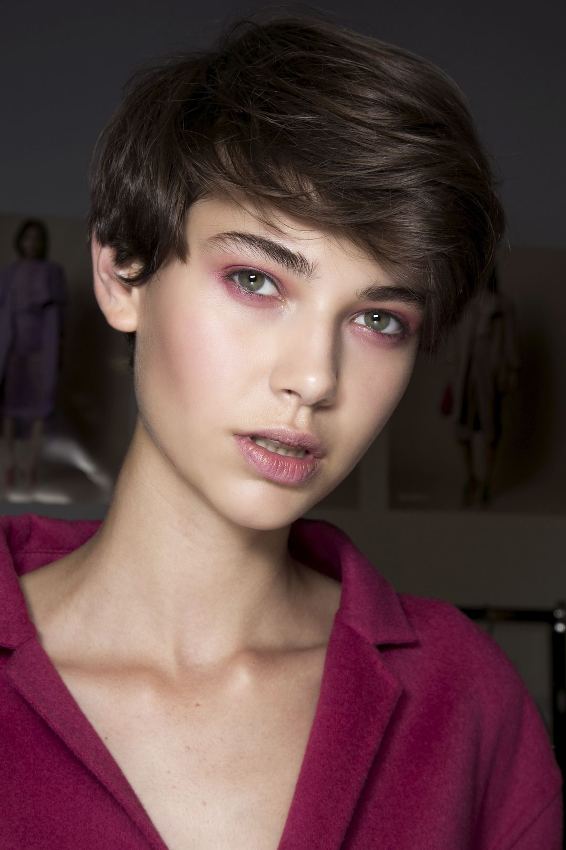 Tricks To Maintaining Your Short Hair Cut At Home | Hair | Pinterest With Regard To Short Hairstyles For High Cheekbones (View 23 of 25)