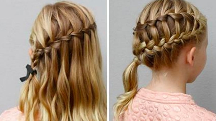 Featured Photo of Diagonally Braided Ponytail Hairstyles