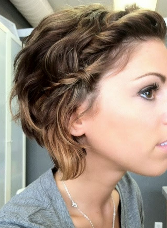 Twists And Braids: Running Late? No Worries, You Could Finish This Regarding Short Messy Hairstyles With Twists (View 25 of 25)