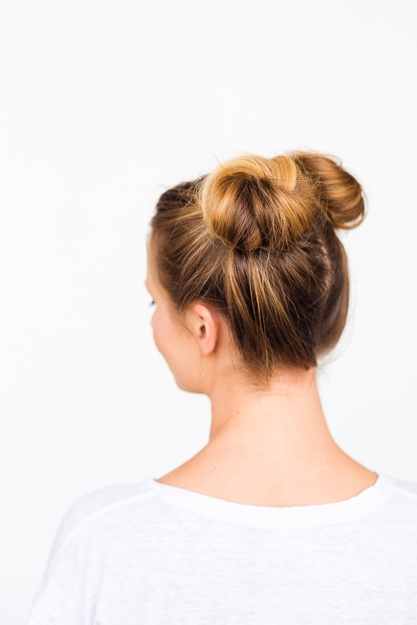Two Buns Are Better Than One: Double Bun Hair Tutorial With 2 Minute Side Pony Hairstyles (View 20 of 25)