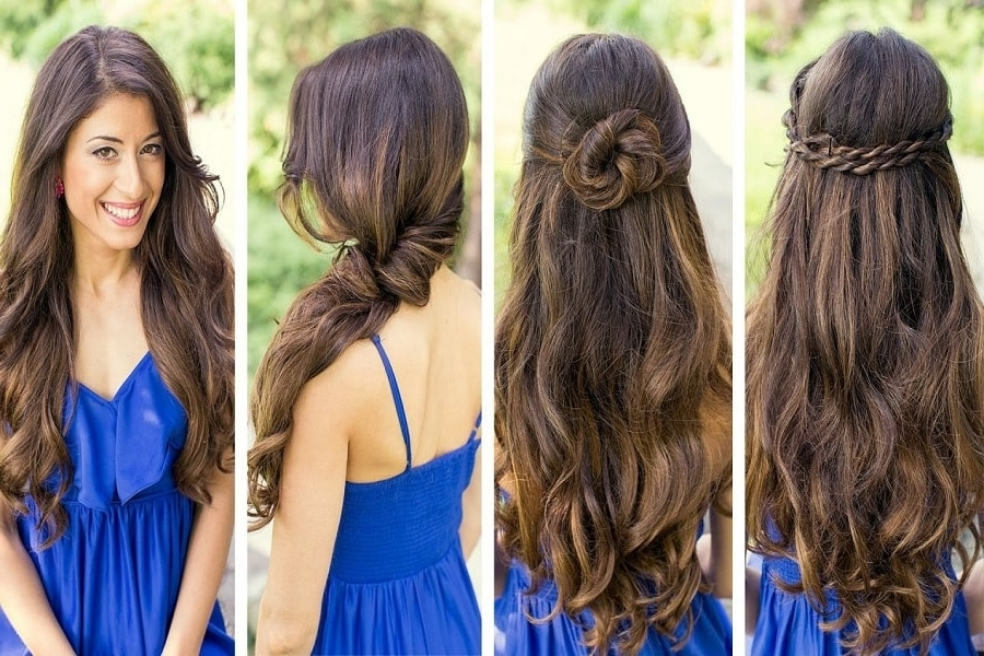 Two Minute Hairstyles For Last Minute Divas – Bookmyshow Blog Regarding 2 Minute Side Pony Hairstyles (View 25 of 25)