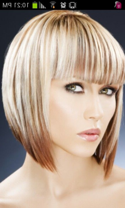 Two Tone Bob Hairstyle, The New Bob | Hair In 2018 | Pinterest Within Straight Cut Two Tone Bob Hairstyles (View 5 of 25)
