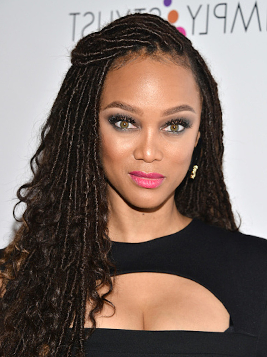 Tyra Banks Gets In On Faux Locs Trend! – The Style News Network In Tyra Banks Short Hairstyles (View 20 of 25)