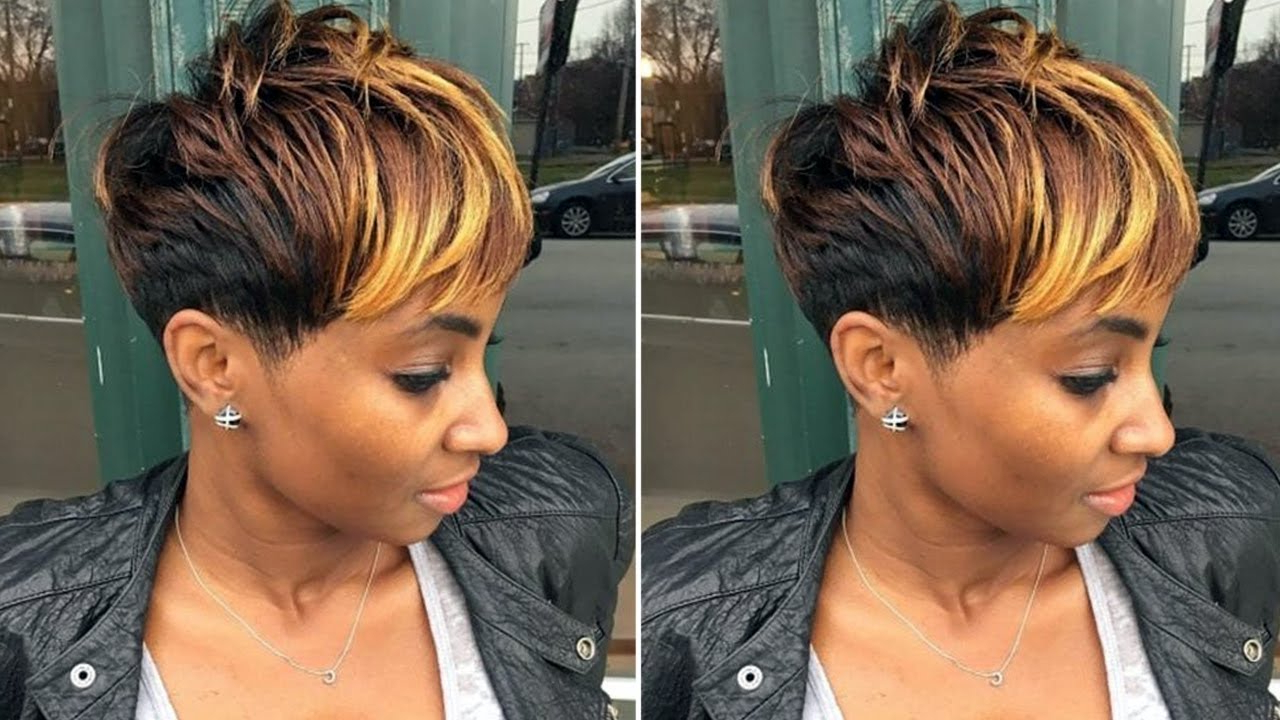 View Gallery Of Short Short Haircuts For Black Women Showing 23 Of