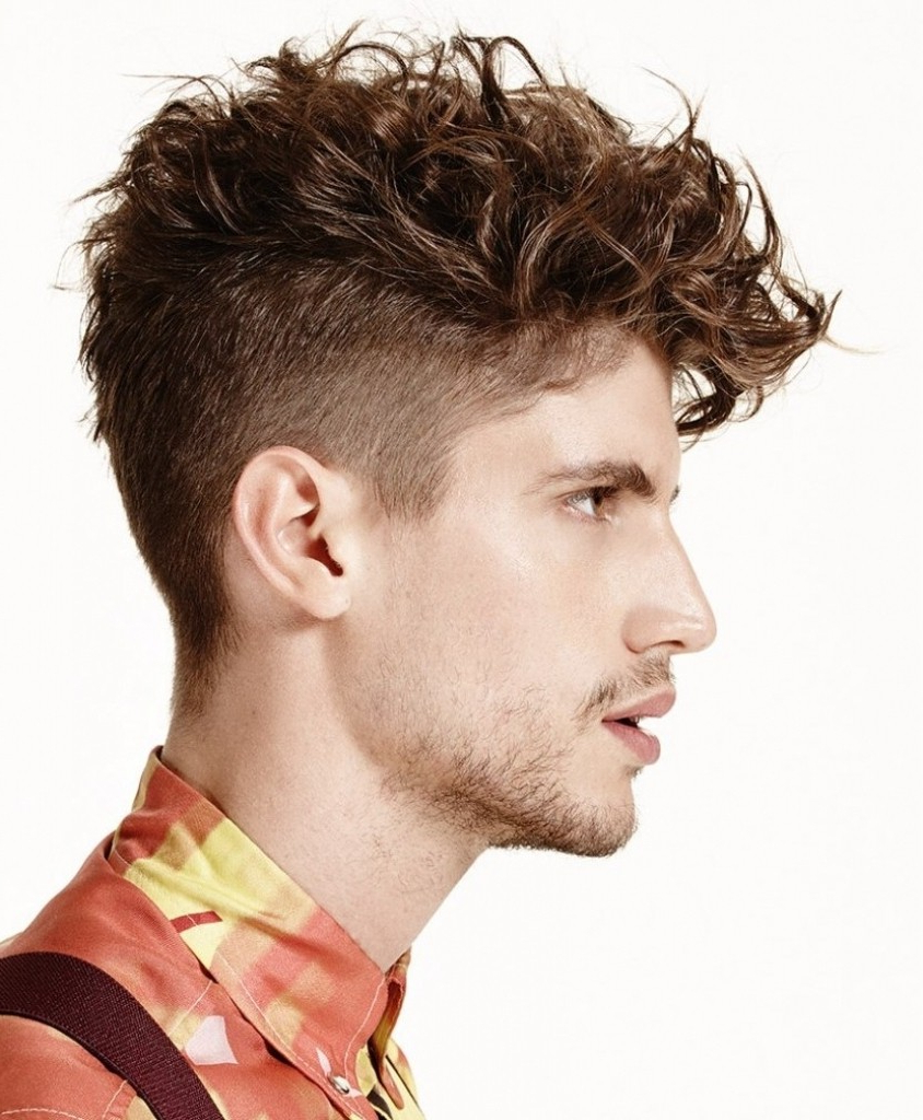 Undercut Hairstyle For Curly Hair – Haircutting (View 3 of 25)