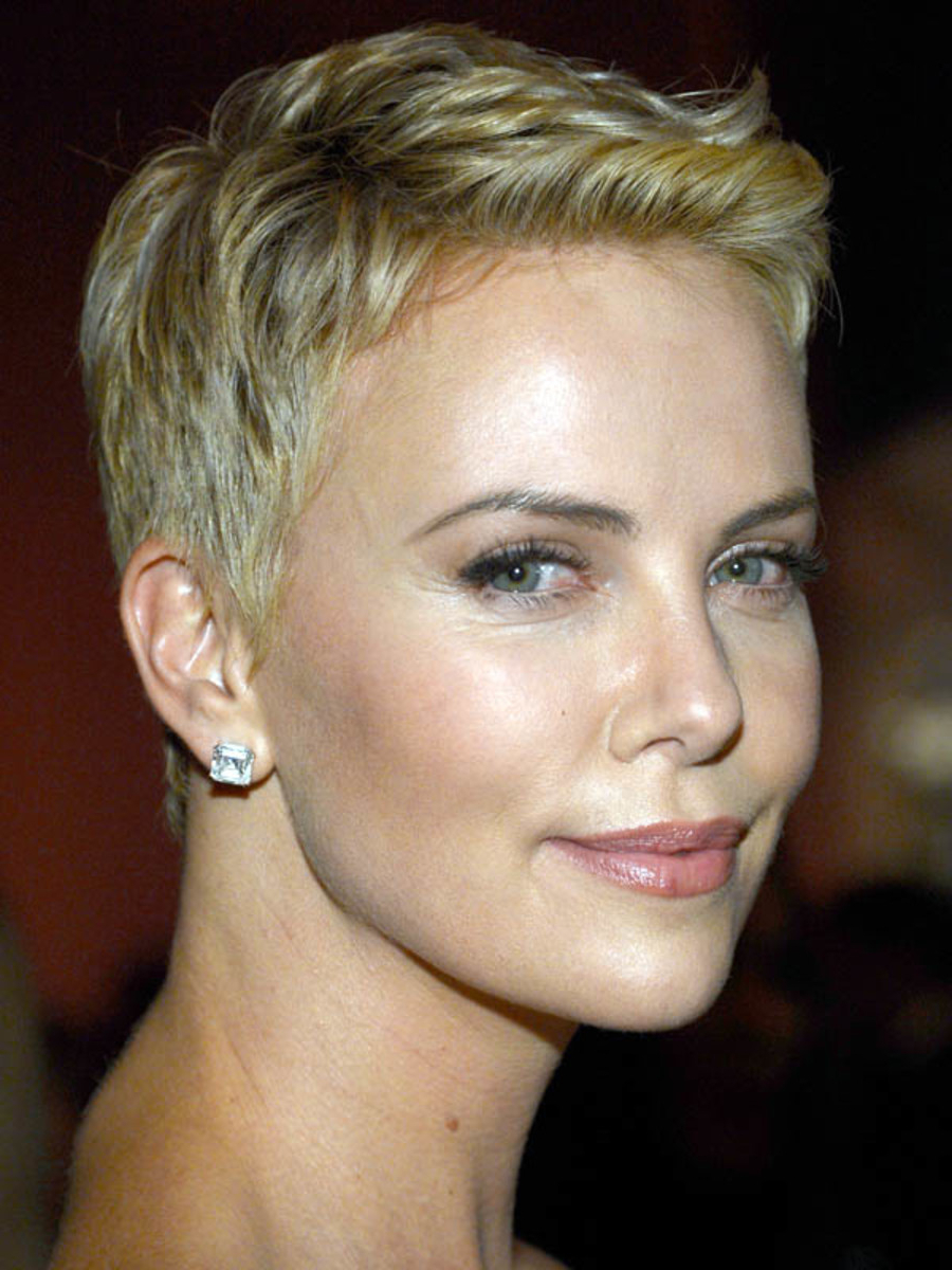Understanding The Background Of Charlize Theron Short Hairstyles Throughout Charlize Theron Short Haircuts (View 13 of 25)