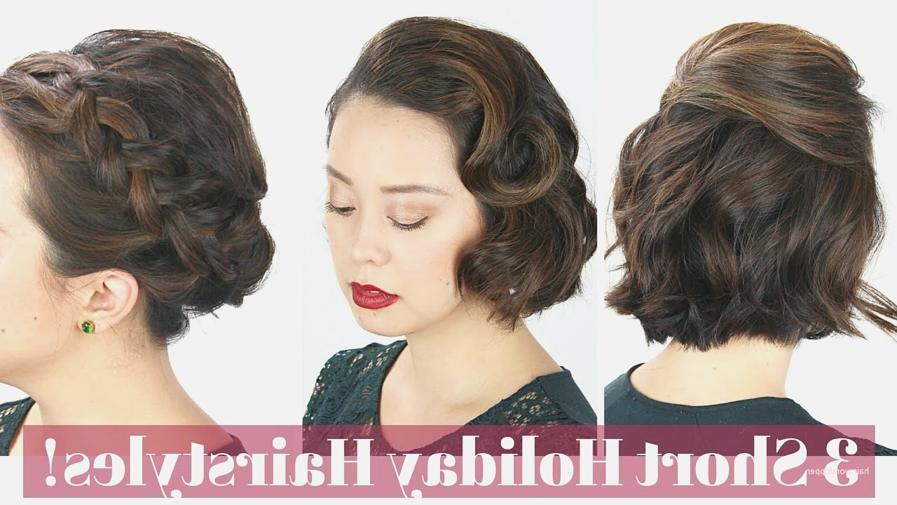 Unique Hairstyles For Special Occasions Youtube – Hair Worshipper In Short Hairstyles For Special Occasions (View 4 of 25)