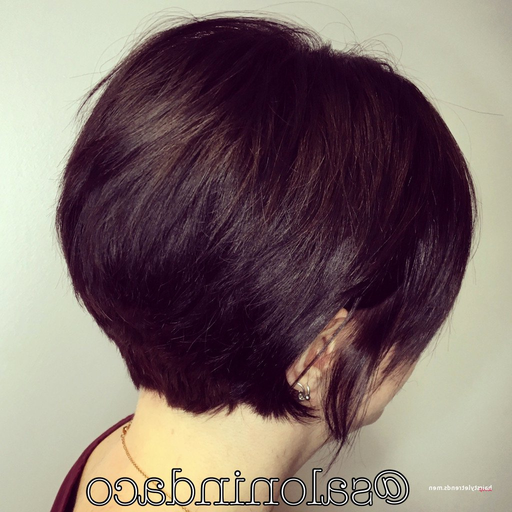 Unique Short Curly Stacked Bob • Hairstyletrends For Stacked Curly Bob Hairstyles (View 22 of 25)