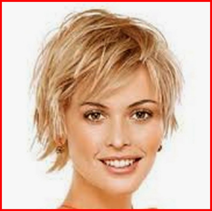 Unique Short Haircuts For Round Faces And Thin Hair Over 50 Photos With Short Haircuts For Thin Faces (View 15 of 25)