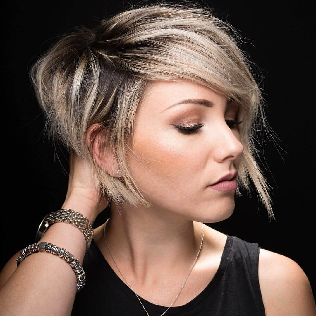 Versatile Celebrity Short Haircuts Ideas For 2018 – Best Short Within Teased Short Hairstyles (View 6 of 25)