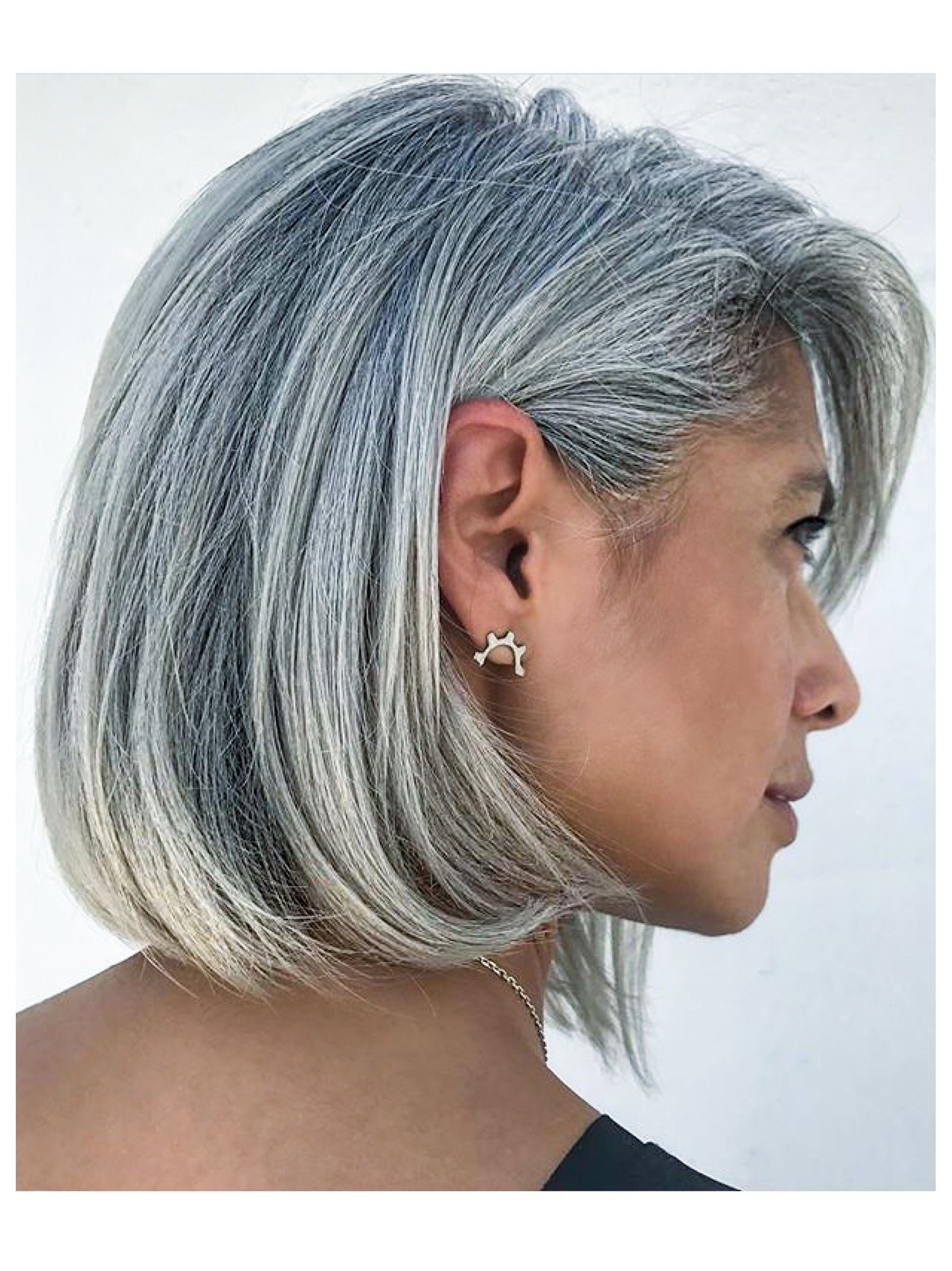 Very Good Best Short Haircuts For Grey Hair  Alwaysdc In Short Haircuts With Gray Hair (View 17 of 25)