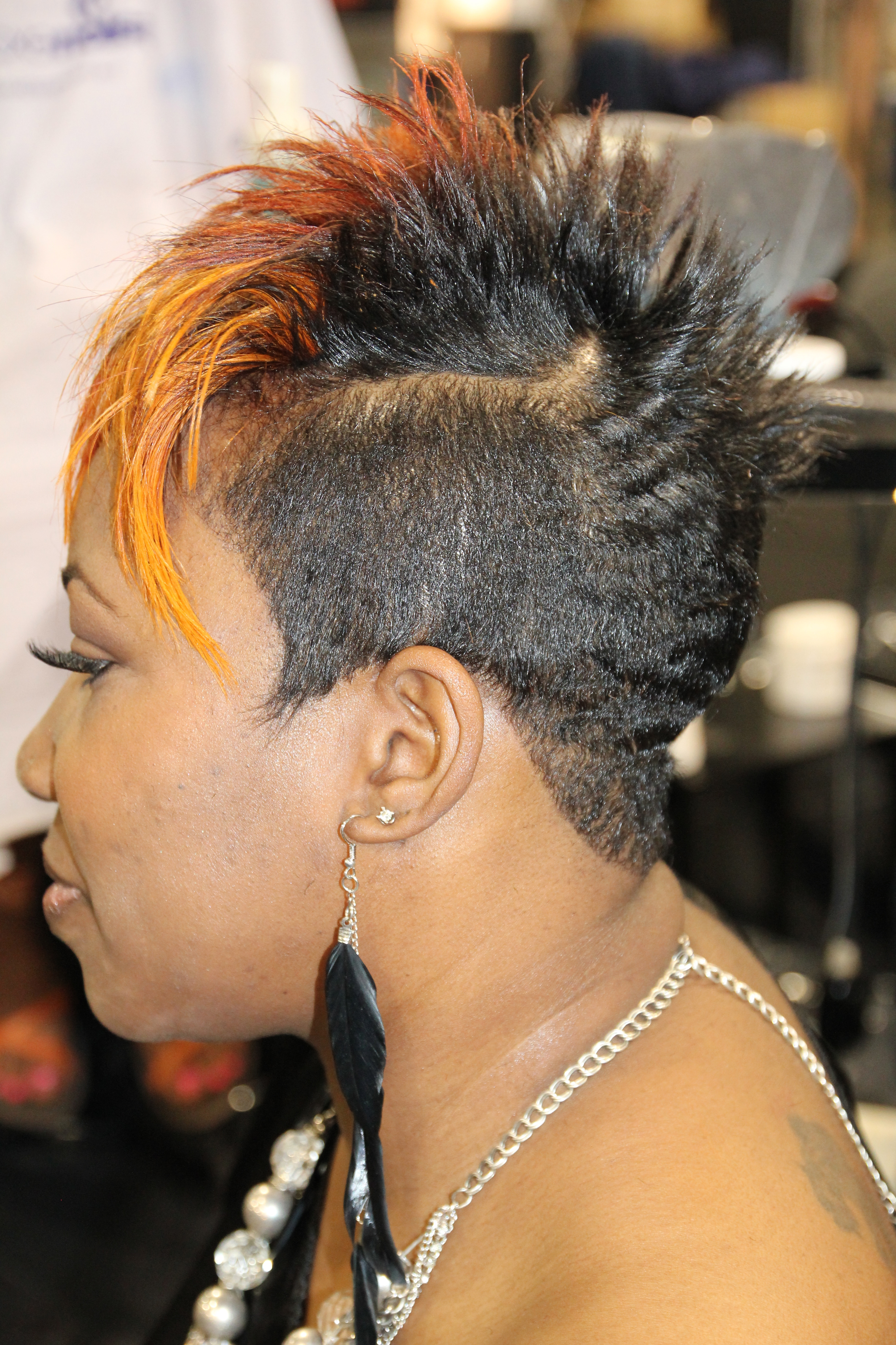 Very Short Black Haircuts With African Women Short Hairstyles (View 21 of 25)