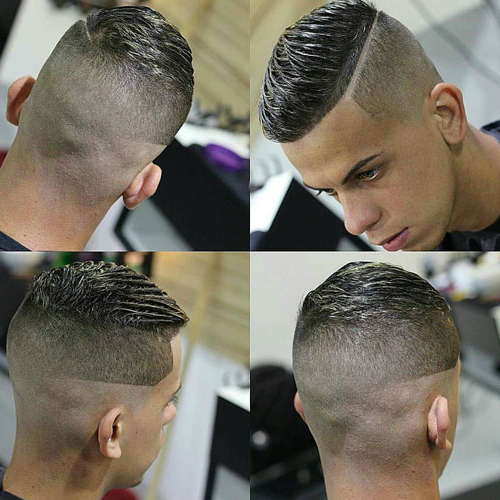 Very Short Hairstyles For Men Intended For Short Haircuts With Side Part (View 9 of 25)