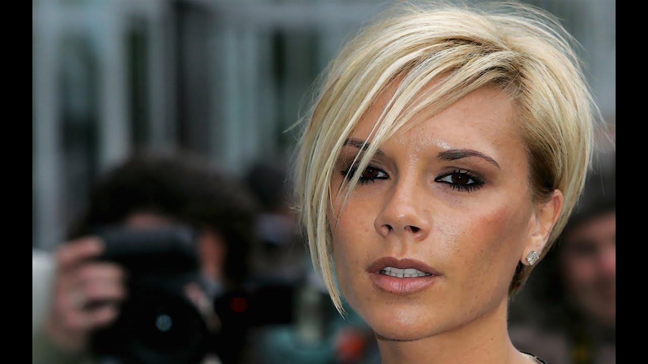 Victoria Beckham Short Hairstyles – Youtube In Victoria Beckham Short Haircuts (View 3 of 25)