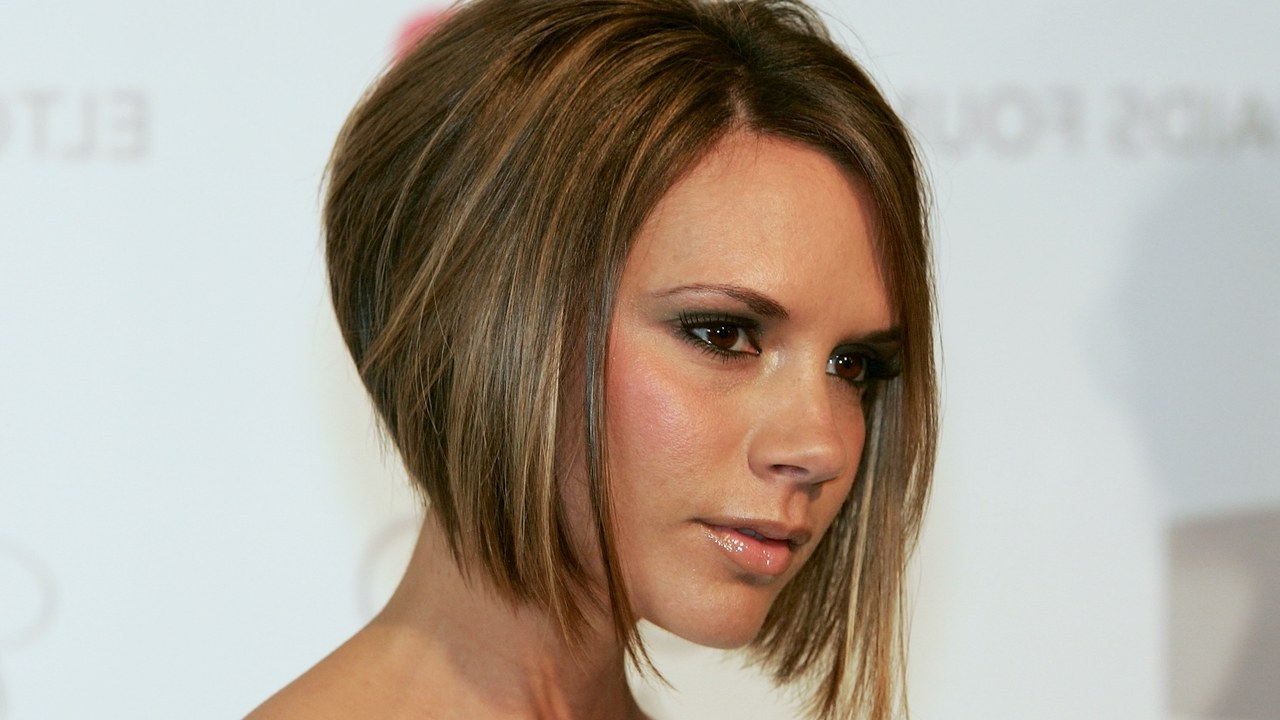 Victoria Beckham's Daughter, Harper, Got Her Mother's Famous Bob Pertaining To Posh Spice Short Hairstyles (View 25 of 25)