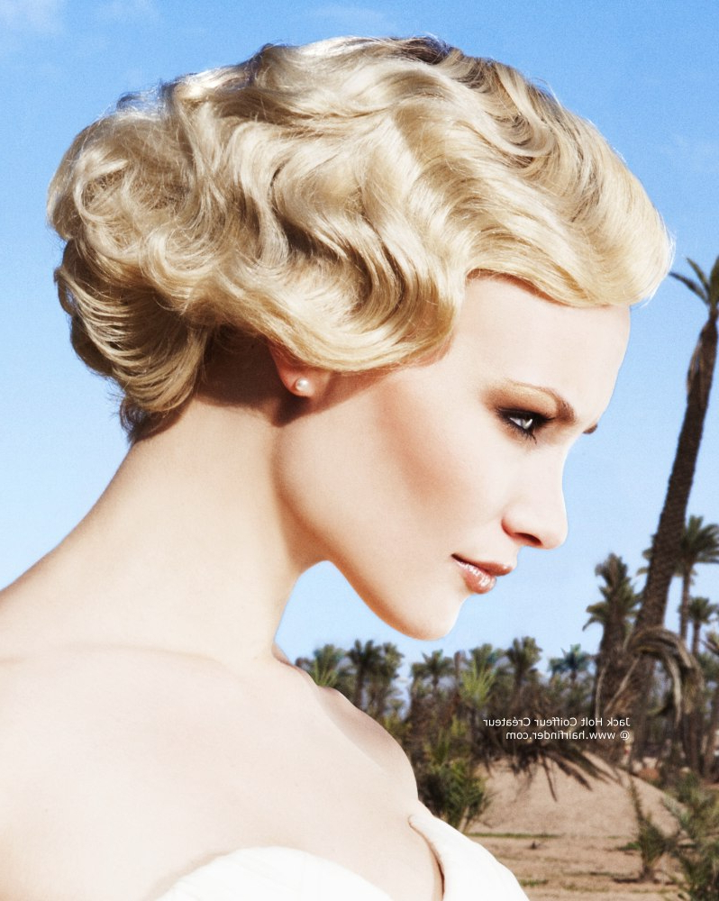 Vintage Hairstyles For Short Hair – Hairstyles Ideas With Regard To Vintage Hairstyle For Short Hair (View 4 of 25)
