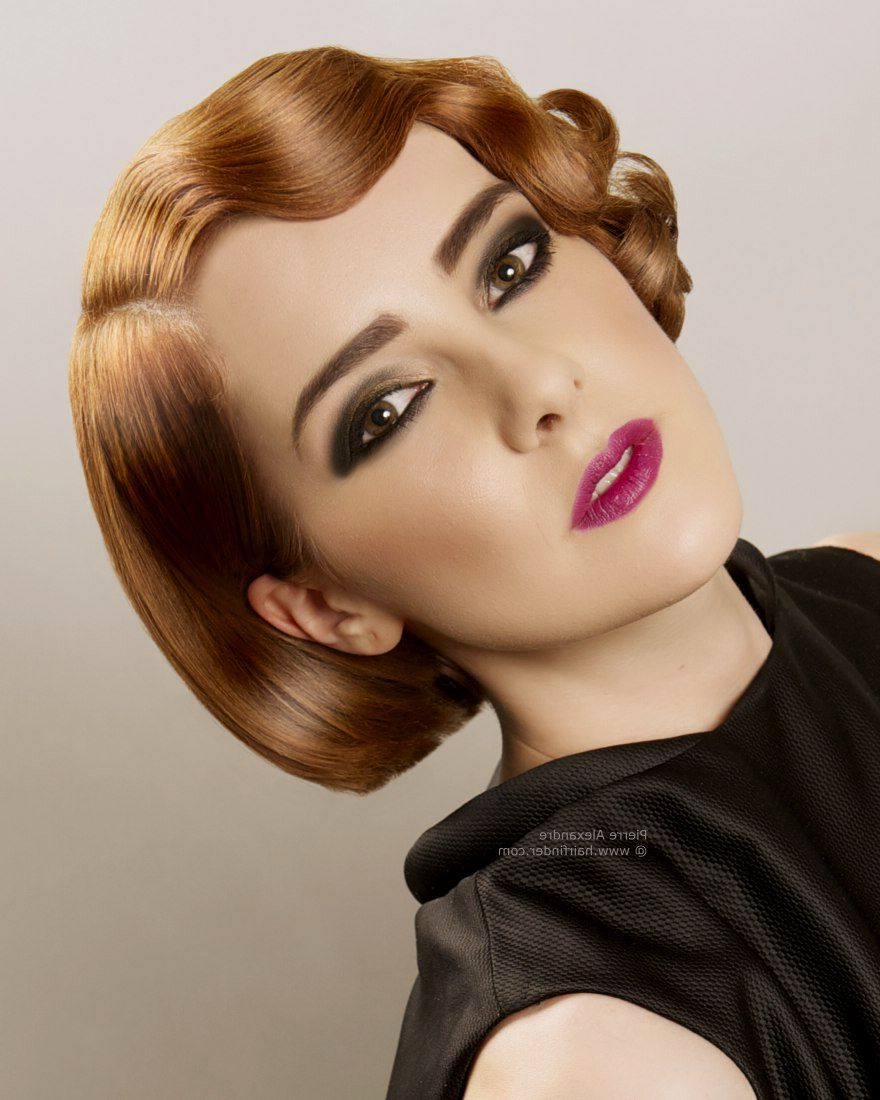 Featured Photo of Vintage Hairstyle For Short Hair