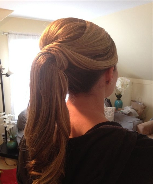 Wedding Day Ponytail Hairstyles (View 13 of 25)
